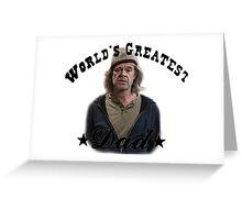 Frank Greeting Card