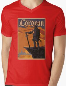 Brother of Lordran - Praise the Sun T-shirt  Mens V-Neck T-Shirt