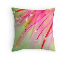 Bottlebrush Throw Pillow