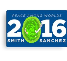 Rick and Morty 2016 shirt hoodie bumper sticker Canvas Print