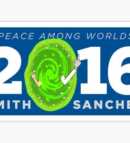 Rick and Morty 2016 shirt hoodie bumper sticker Sticker