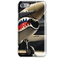Tiger Shark Airplane WWII  iPhone Case/Skin