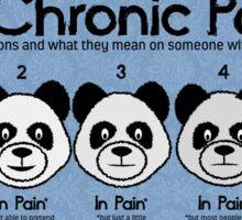 Chronic Painda Sticker
