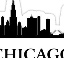 Chicago Cityscape Sticker