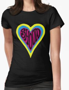 Shoom Acid T Shirt Womens Fitted T-Shirt