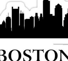 Boston Cityscape Sticker