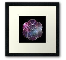 Cosmic Seed of Life Framed Print