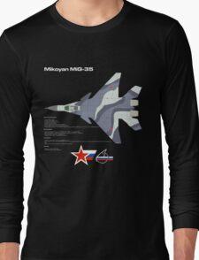 Fulcrum-F Mikoyan MiG-35 Long Sleeve T-Shirt