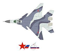 Fulcrum-F Mikoyan MiG-35 Photographic Print