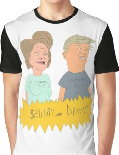 $hillary and Drumpf Graphic T-Shirt