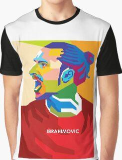 WPAP - Ibrahimovic Graphic T-Shirt
