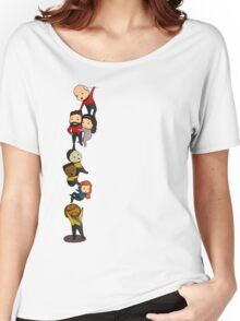 Chibi TNG Crew Women's Relaxed Fit T-Shirt