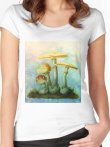 NATURE'S LITTLE JEWELS Women's Fitted Scoop T-Shirt
