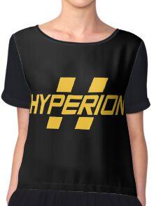 Hyperion Yellow Chiffon Top