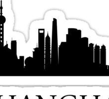 Shanghai Cityscape Sticker