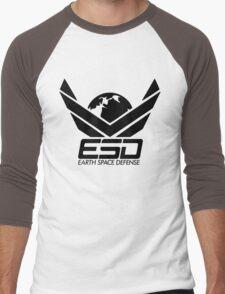 ESD - Earth Space Defense Men's Baseball ¾ T-Shirt