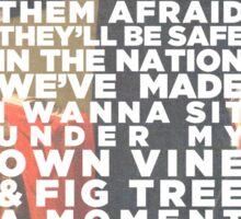 Vine & Fig Tree Sticker