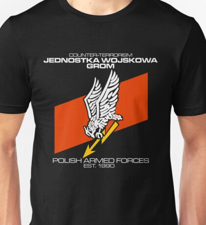 JW GROM POLAND SPECIAL FORCE Unisex T-Shirt
