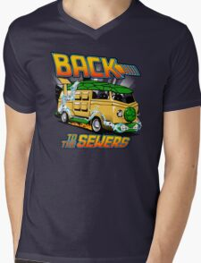 Back to the Sewers Mens V-Neck T-Shirt