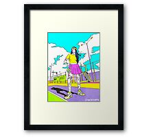 How To Play Tennis Framed Print