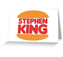 Stephen King Greeting Card