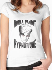 Korla Pandit - Hypnotique Women's Fitted Scoop T-Shirt