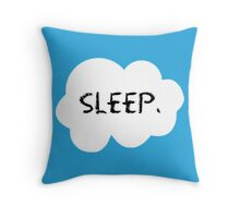 Sleep. Throw Pillow