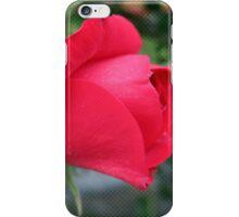 Red Rose Comic Dots iPhone Case/Skin