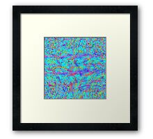 Structured Chaos Framed Print