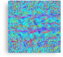 Structured Chaos Canvas Print