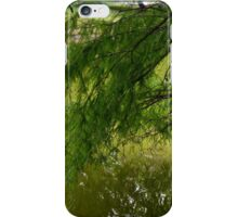 Tree with the leaves in the water. iPhone Case/Skin