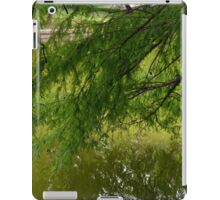 Tree with the leaves in the water. iPad Case/Skin