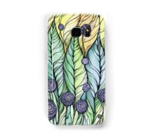 Dandelions.Hand draw  ink and pen, Watercolor, on textured paper Samsung Galaxy Case/Skin