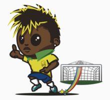 Neymar jr. Soccer One Piece - Short Sleeve