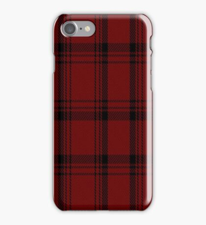 01971 University of Chicago Tartan  iPhone Case/Skin