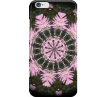 Pink Protea Wheels iPhone Case/Skin