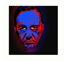 frank underwood is judging you Art Print