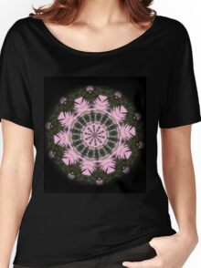 Pink Protea Wheels Women's Relaxed Fit T-Shirt