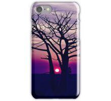 Boab Sunset. Derby. West Kimberley region of Western Australia. iPhone Case/Skin