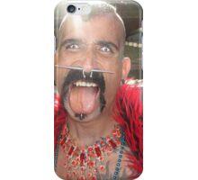 Freaky man iPhone Case/Skin
