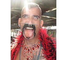 Freaky man Photographic Print