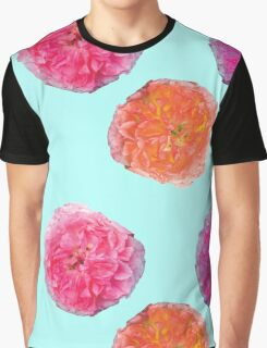 Pretty in Pink Roses Graphic T-Shirt