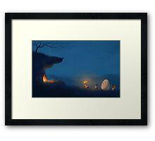 Hunting Egg Framed Print