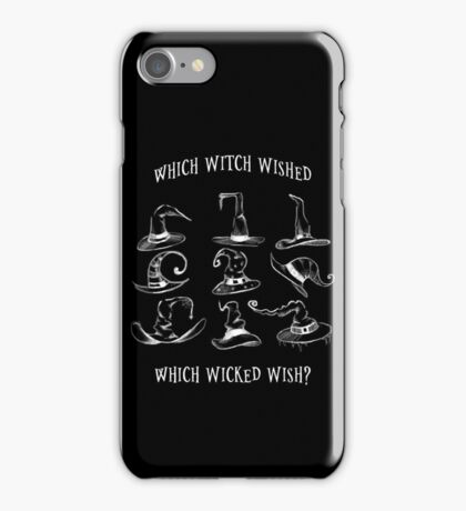 Wicked Witch Hats iPhone Case/Skin