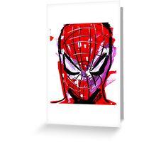 Spiderman splash Greeting Card