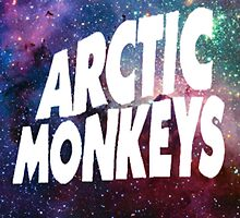 Arctic Monkeys Galaxy by VanessaD16