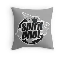 Spirit Pilot Throw Pillow
