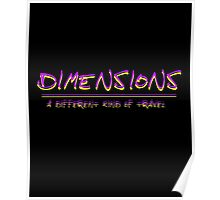 Dimensions Poster