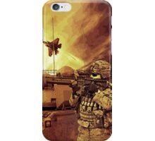 War Apocalypse Illustration iPhone Case/Skin