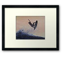 Air Brush Framed Print